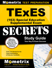 TExES Special Education Supplemental Study Guide