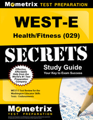 WEST-E Health/Fitness Study Guide
