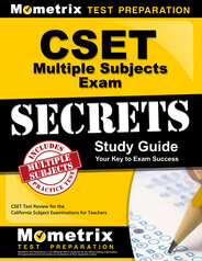 CSET Multiple Subjects Education Study Guide