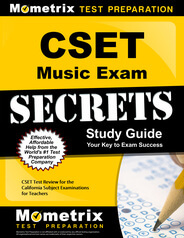 CSET Music Study Guide