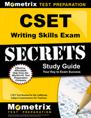 CSET Writing Skills Study Guide
