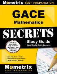 GACE Mathematics Study Guide