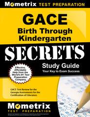 GACE Birth Through Kindergarten Study Guide