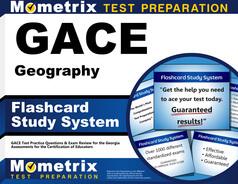 GACE Geography Flashcards