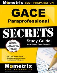 GACE Paraprofessional Study Guide