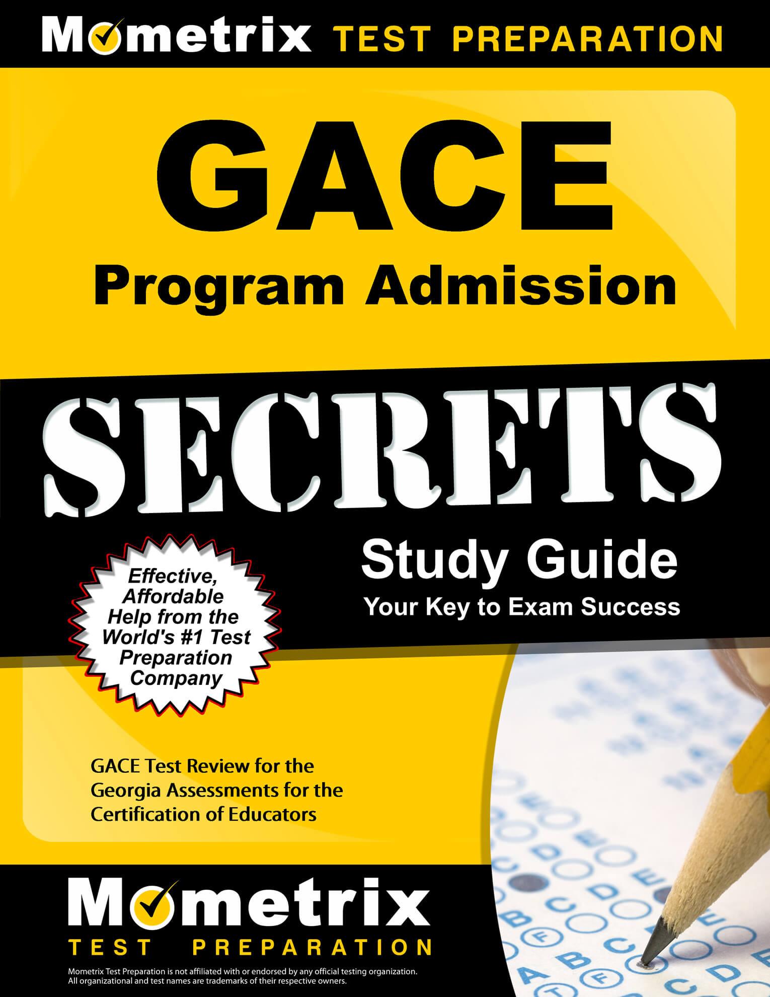 GACE Program Admission Study Guide