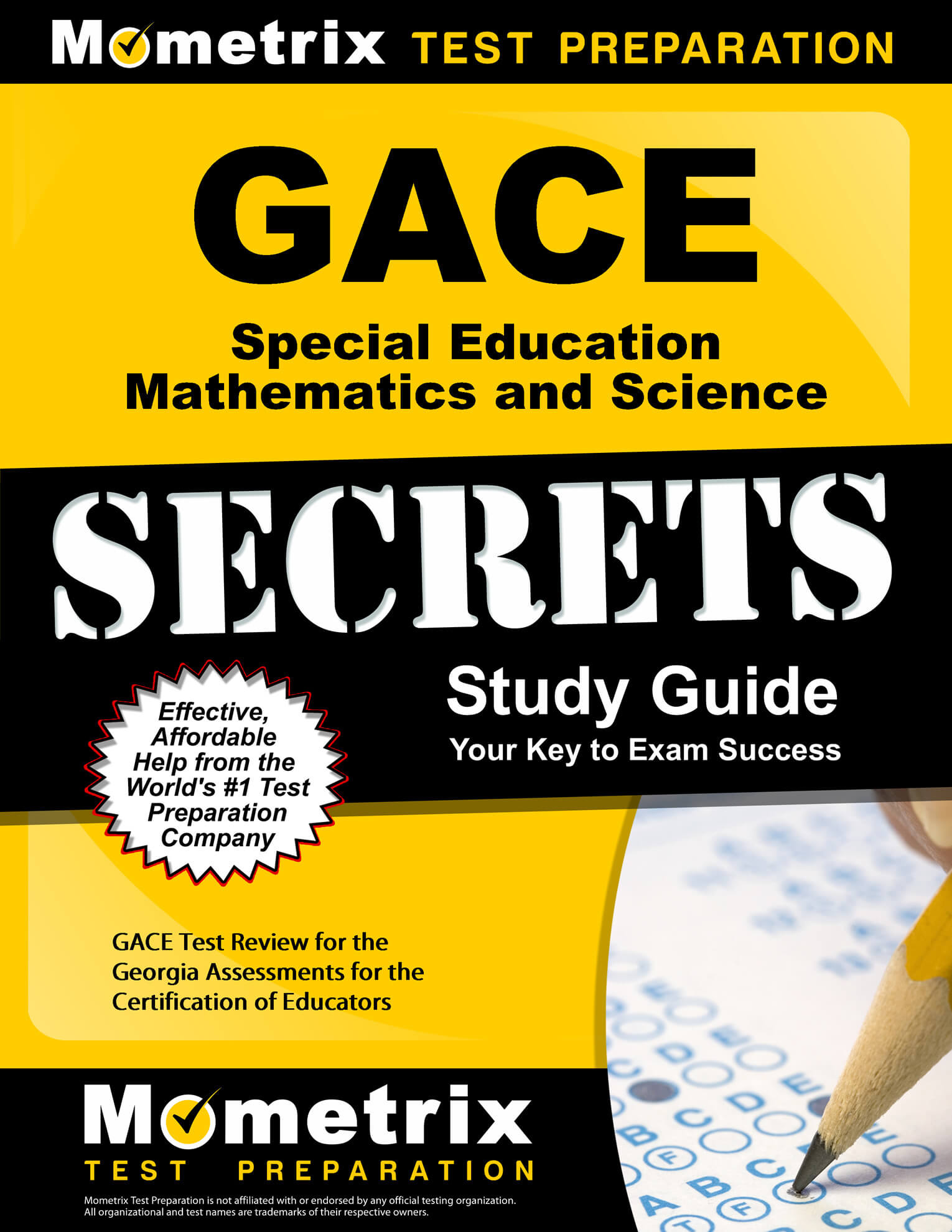 GACE Special Education Mathematics and Science Study Guide
