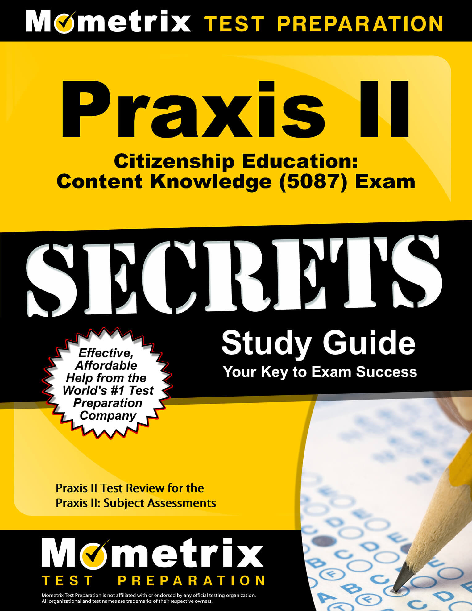 Praxis II Citizenship Education: Content Knowledge Study Guide