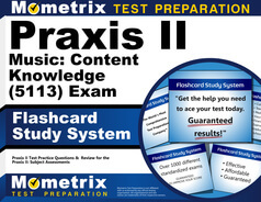 Praxis II Music: Content Knowledge Flashcards