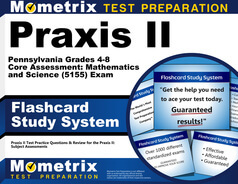 Praxis II Pennsylvania Grades 4-8 Core Assessment: Mathematics and Science Flashcards