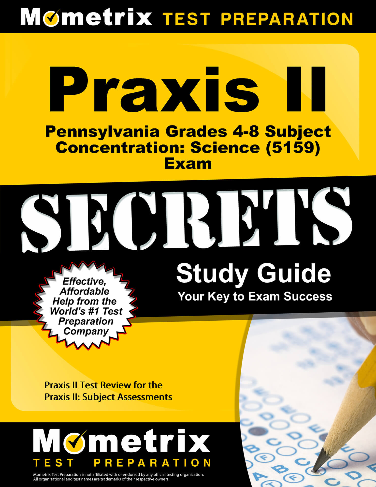 Praxis II Pennsylvania Grades 4-8 Subject Concentration: Science Study Guide