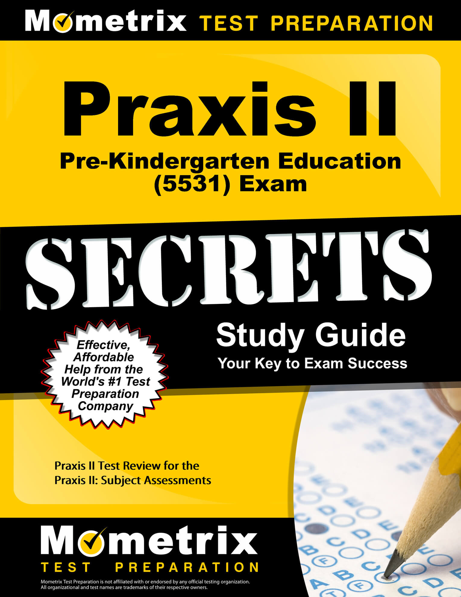 Praxis II Pre-Kindergarten Education Study Guide
