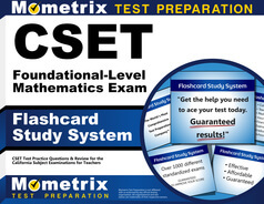CSET Foundational-Level Mathematics Flashcards
