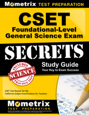 CSET Foundational-Level General Science Study Guide