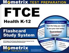 FTCE Health K-12 Flashcards