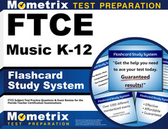 FTCE Music K-12 Flashcards