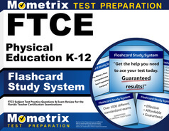 FTCE Physical Education K-12 Flashcards