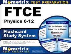 FTCE Physics 6-12 Flashcards