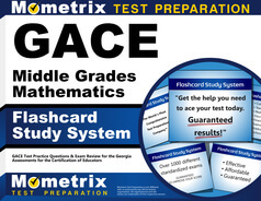 GACE Middle Grades Mathematics Flashcards