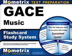GACE Music Flashcards