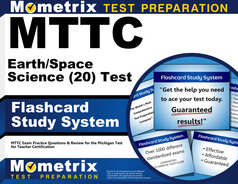 MTTC Earth/Space Science Flashcards