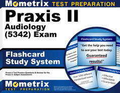 Praxis II Audiology Flashcards