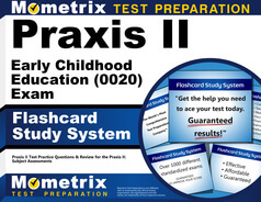 Praxis II Early Childhood Education Flashcards