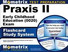 Praxis II Early Childhood Education Flashcards