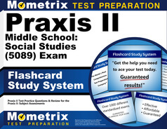 Praxis II Middle School: Social Studies Flashcards