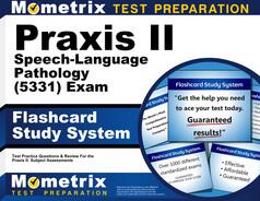Praxis II Speech-Language Pathology Flashcards