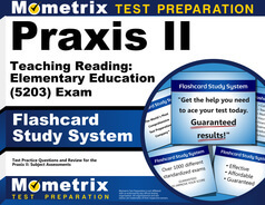 Praxis II Teaching Reading: Elementary Education Flashcards