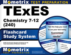 TExES Chemistry 7-12 Flashcards