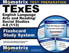 TExES English Language Arts and Reading/Social Studies 4-8 Flashcards