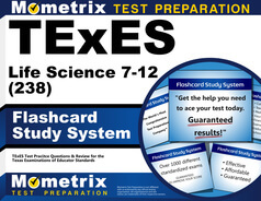 TExES Life Science 7-12 Flashcards