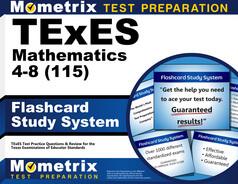 TExES Mathematics 4-8 Flashcards