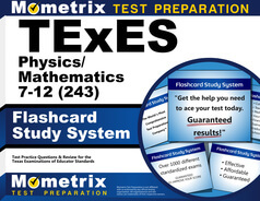 TExES Physics/Mathematics 7-12 Flashcards