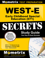 WEST-E Early Childhood Special Education Study Guide