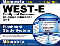 WEST-E Family and Consumer Sciences Education Flashcards