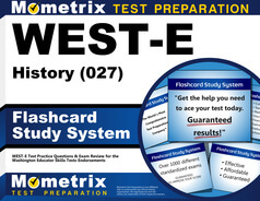 WEST-E History Flashcards