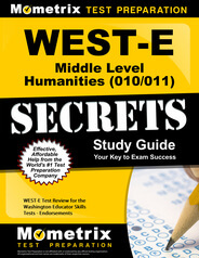 WEST-E Middle Level Humanities Study Guide