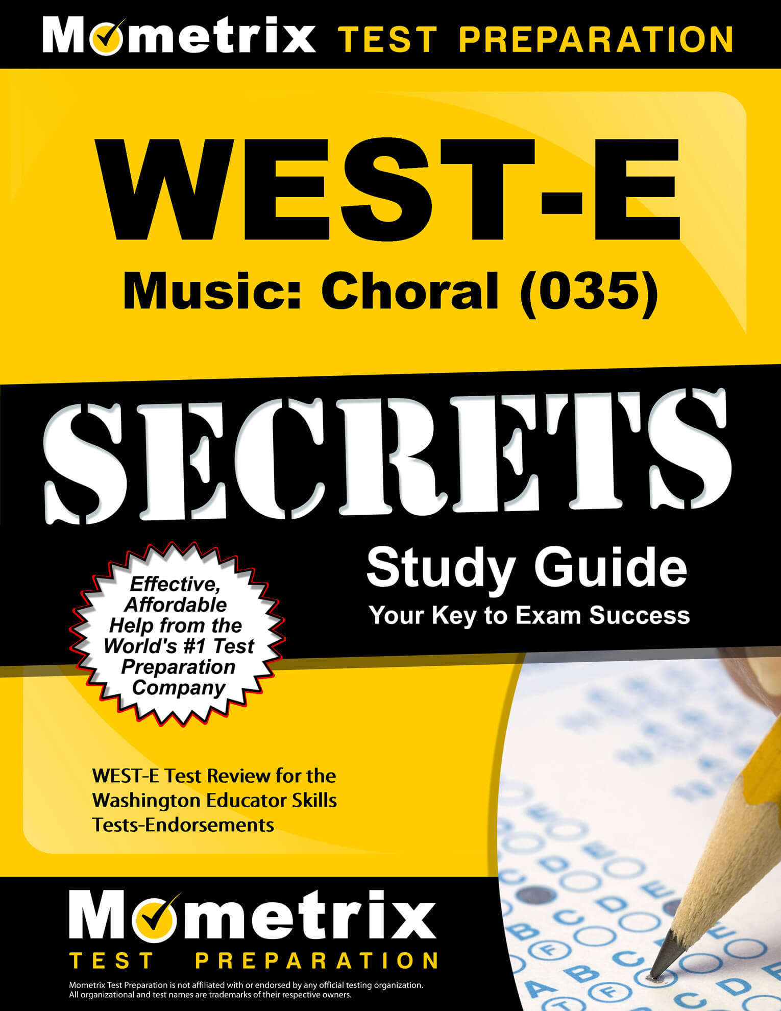 WEST-E Music: Choral Study Guide