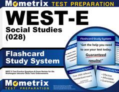 WEST-E Social Studies Flashcards