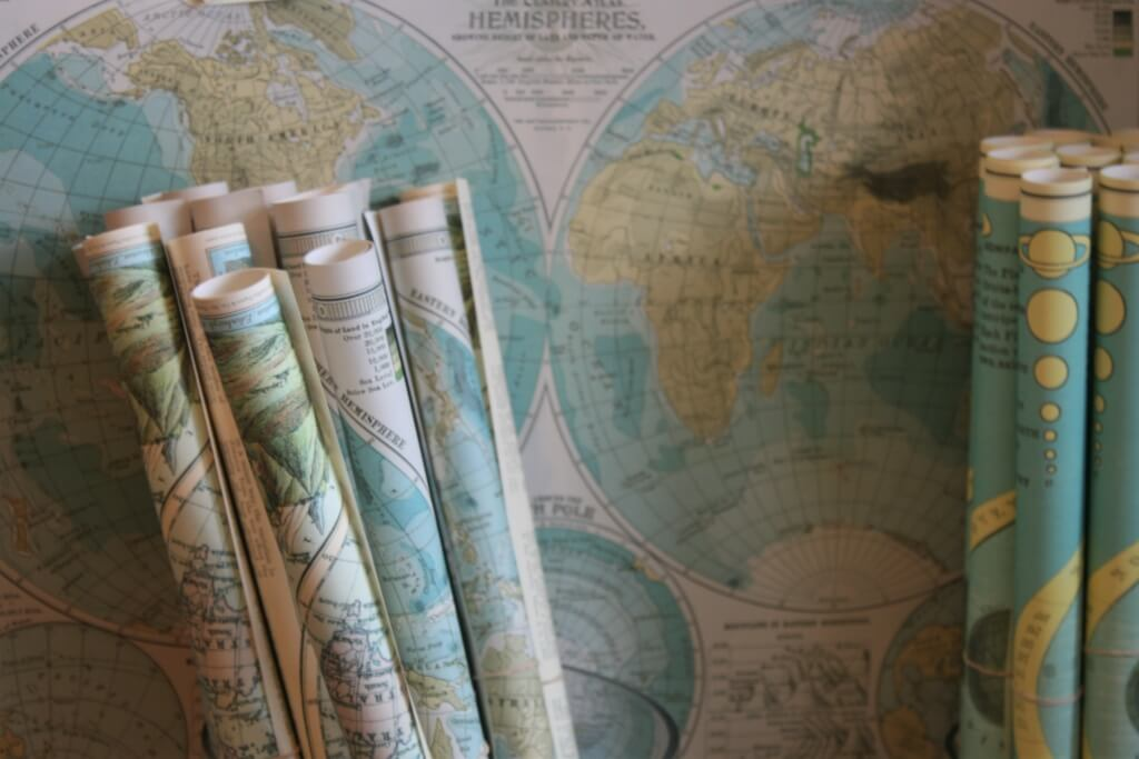 A collection of maps