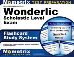 Wonderlic SLE Flashcards
