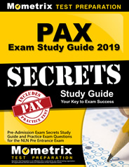 Mometrix Test Preparation study guide for the PAX exam