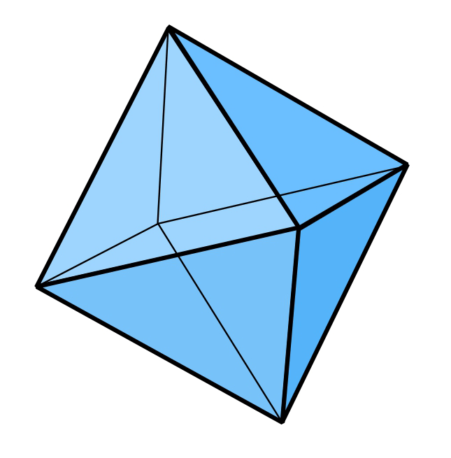 Image of an eight-sided die