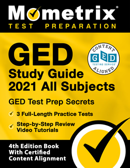Mometrix GED Study Guide 2021 All subject cover