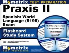 Mometrix Praxis II Spanish: World Language Flashcards