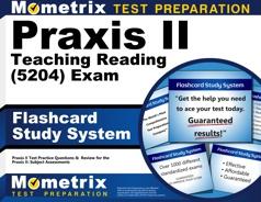 Mometrix Praxis II Teaching Reading Flashcards