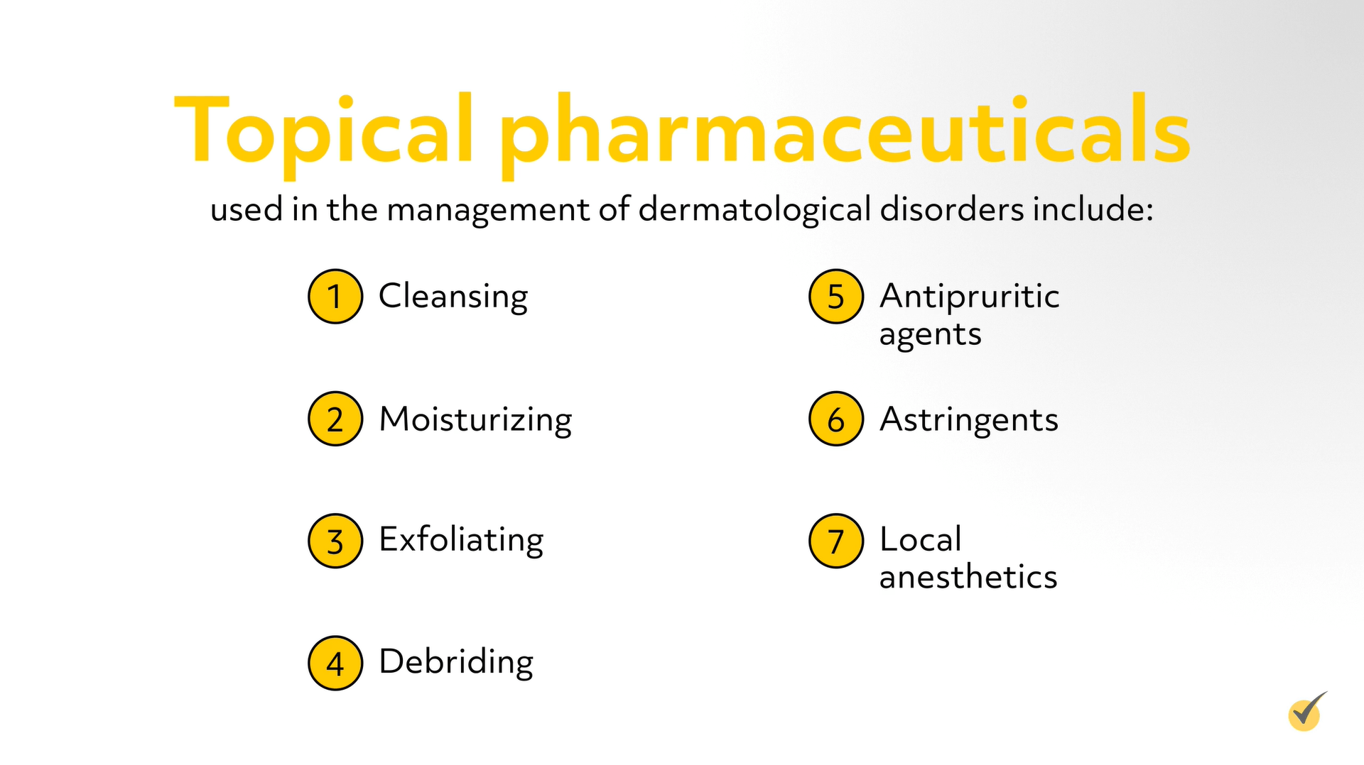 topical pharmaceuticals